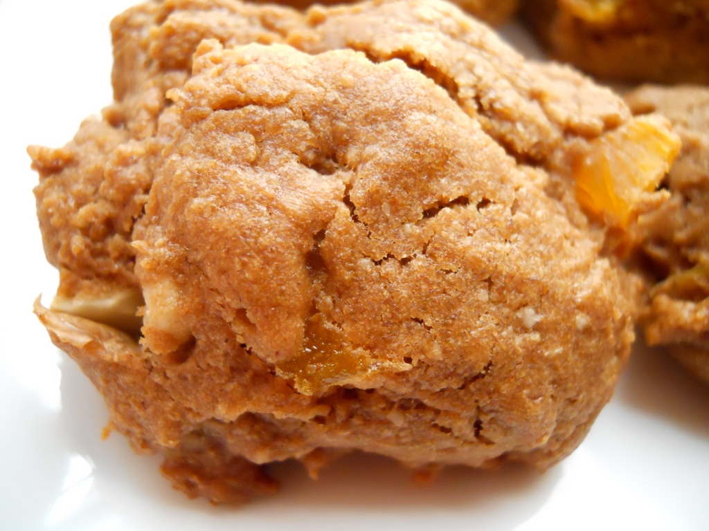 Apricot Walnut Apple Cookies
